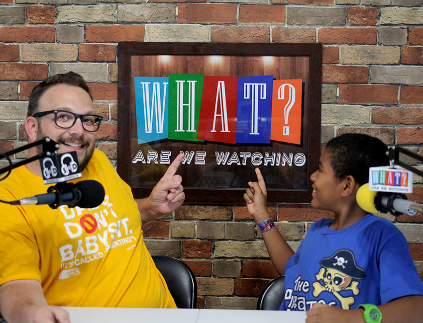 What Are We Watching? Podcast Promo Pictures